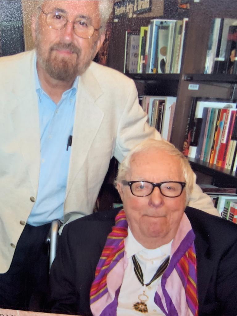 With legendary author Ray Bradbury